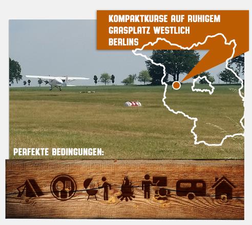 Kompaktkurse in perfekter Umgebung, AIRMAN Fliegerschule