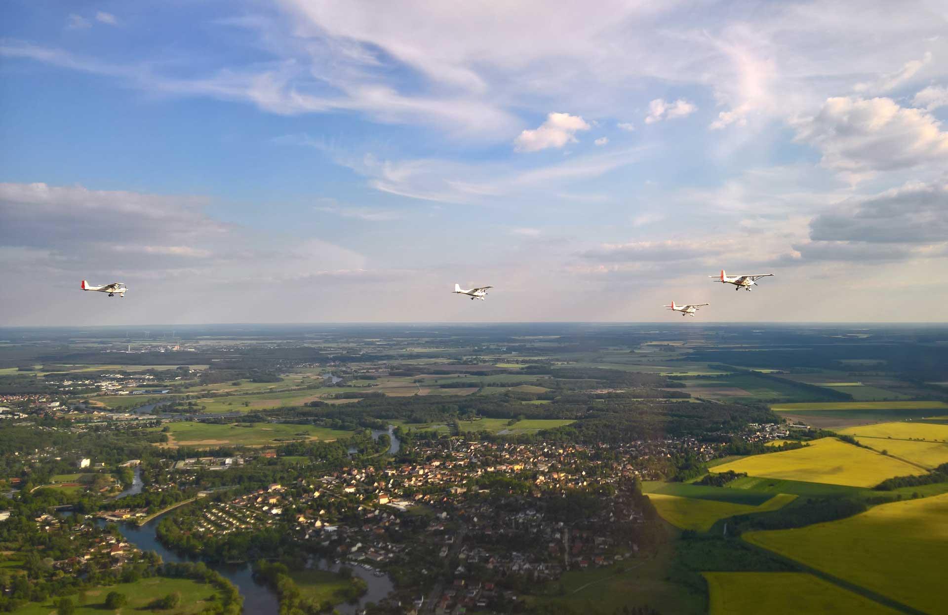 Fliegen lernen Berlin